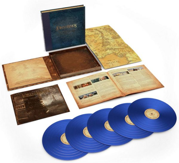 Howard Shore - The Lord Of The Rings: The Two Towers - The Complete Recordings (5LP 180 Gram Blue Vinyl)(Limited) - Amazon.com … 2018-08-26 16-57-46