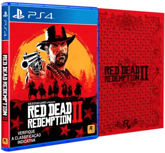 Red Dead Redemption 2 - Steelbook Edição Pre-Venda - PS4 2018-08-31 17-27-25